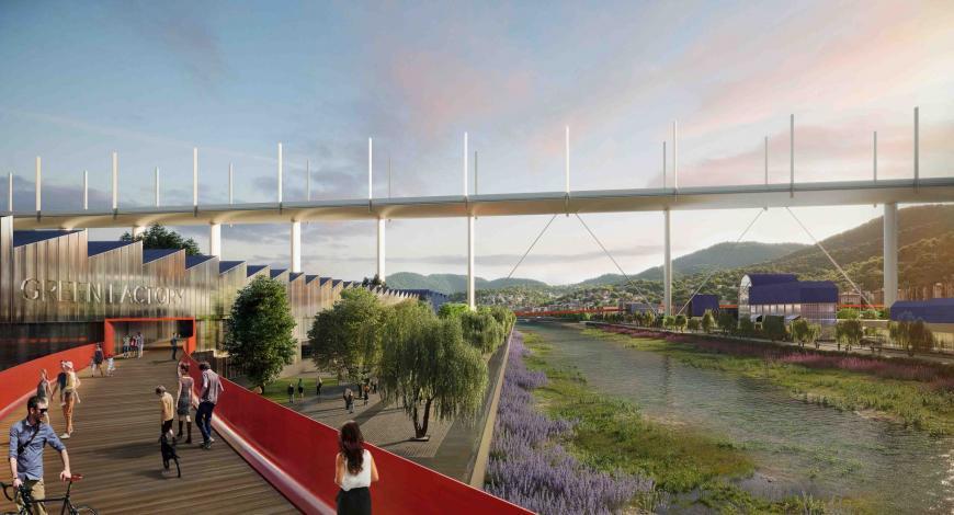 Il Parco del Ponte: presentato come esempio di best practice a Parigi